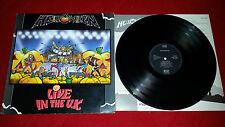 Helloween - Live In The U.K. 1989 - UK - EMI – EMC 3558