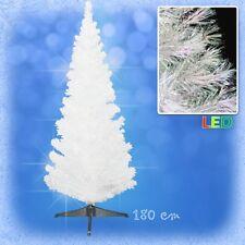 180 cm LED Weihnachtsbaum mit farbwechselnde Lichtfasern WEISS Ёлка