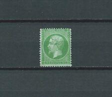 FRANCE - 1862 YT 20 5 c. vert - TIMBRE NEUF** MNH gomme d' origine