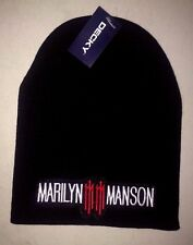 MARILYN MANSON LICENSED BEANIE SKULL CAP  ROCK  NEW! t-shirt METAL