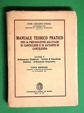 Manuale teorico pratico per la preparazione agli esami di Cancelliere Vol. II