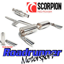 Scorpion Clio 197 Gato Sistema de escape atrás no res con cola de corte deportivo Gato Slash