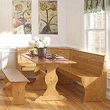 Rectangular Dining Furniture Sets With Corner Benches For Sale In Stock Ebay
