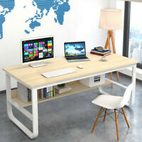 "47"" Computer Desk Corner Study Writing Table Workstation Laptop Office Furniture"