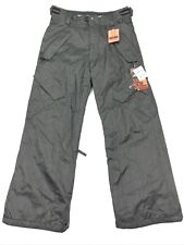 NEW Ride Phinney Men's Classic Fit Snowboard Pants Charcoal Denim • Small