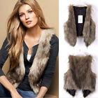 Winter Warm Sleeveless Coat Vest Waistcoat Gilet Jacket Women Ladies