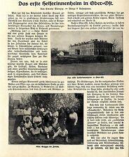 Il primo intervenienti casa nell'alto-est. (Bialystok) - testo & immagine documenti von1917