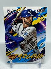2020 Topps Fire Bubba Starling #36 RC