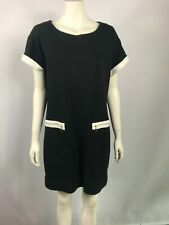 Country Road (Trenery) M or 12 black stretchy dress