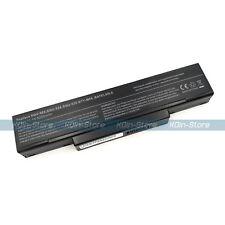 Battery for Asus A9 F3 MSI M660 M662 M670 BTY-M66 BTY-M68 A32-F3 SQU-528 SQU-524