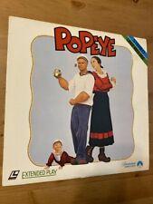 Popeye - Paramount - Laserdisc - Good Condition