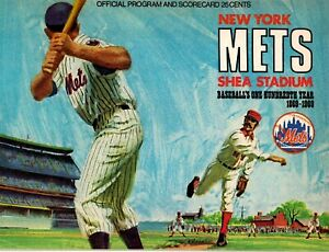 1969 Chicago Cubs at New York Mets Program (Tom Seaver vs. Fergie Jenkins) EX