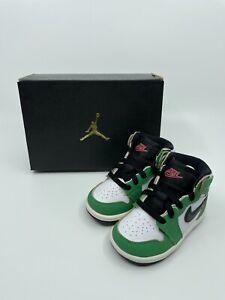 Air Jordan 1 Retro High OG TD 'Lucky Green' / CU0450 300 / Size 5c / NIB