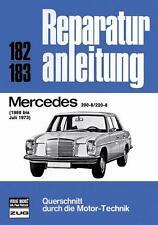 Mercedes-Benz /8 W115 (200 220) Benzin Reparaturanleitung deutsch Buch book M115