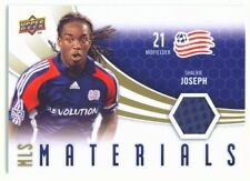 Shalrie Joseph Mls Materials Jersey Ud Mls Soccer 2010