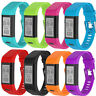 Silicone Band Strap Wristband  Bracelet Replacement For Garmin vivosmart HR+ BK