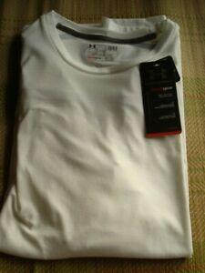 UNDER ARMOUR MENS SHIRT SHORT SLEEVE LARGE  ~NEW W/TAGS~