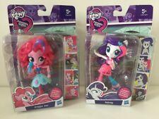 My Little Pony Pinkie Rarity BAMBOLE FIGURE Pie giocattoli Set Equestria Ragazze Bundle