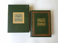 The Hobbit There and Back Again JRR Tolkien Mifflin HC Slip Case Book