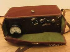 VINTAGE METER DC2 KV SW 1942 FIELD VOLTMETER VOLT GAUGE MILITARY? UNTESTED RADIO