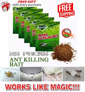25pcs Ant Killer Powder Bait Powder Killing Bait SUPER KILL Ant Roach Best Kill