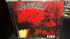 KRABATHOR Lies brutal death metal CD Rare OOP Master Asphyx Pestilence Master !