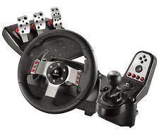 Logitech G27 Racing Wheel 6 Speed Gear Shifter 3 Pedals w/ Clutch PC/Xbox/PS3, 4