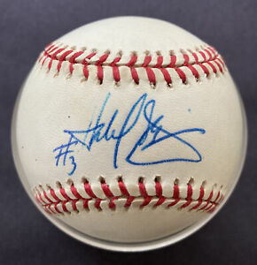 Harold Baines Chicago White Sox  Autographed Signed OAL Baseball