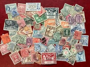 British Commonwealth Collection QV-QEII, All Pre-Decimal,  70+ STAMPS  # S349