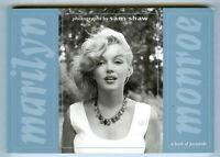 Marilyn Monroe Photographs Book Of Postcards 1990 Portfolio Of  30 Cards