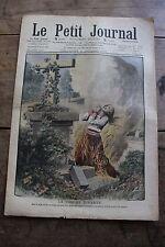 Petit journal illustré N°933 1907 Immolée par le feu Chasse à l'éléphant