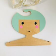 RED HAND GANG KIDS ROOM DECORATIVE HANGER DECOR BABY NURSERY BIRCH WOOD Minty