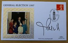 GENERAL ELECTION 1997 BENHAM COVER SIGNED BY LABOUR POLITICIAN JOHN PRESCOTT