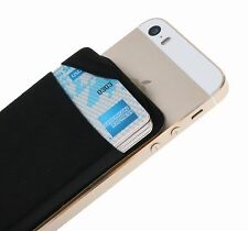 Case Art Plus Credit Card Secure Holder Stick on Wallet [ Lid ] Discreet ID H...