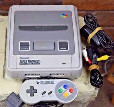 Super Nintendo Console SNES game system bundle 1 controller cords PAL AUS ~ VGC