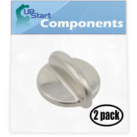 2-Pack Replacement Surface Burner Control for GE J2B918SEL1SS, JGB908SEL2SS