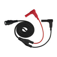 Oscilloscope Test Lead BNC to 4mm Straight Banana Plug 120CM Black/Red P1207
