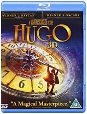 Hugo (Blu-ray 3D + Blu-ray) (2011) [DVD][Region 2]