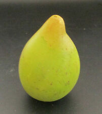 Vintage Italian Alabaster Stone Fruit - Green Pear
