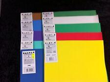 10 Rayher Crepla Moosgummiplatten 40x30cm 2mm siehe Foto R8-20-07