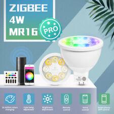 GLEDOPTO ZigBee 3.0 RGB+CCT 4W Smart MR16 Spotlight APP Voice RF Remote Controll