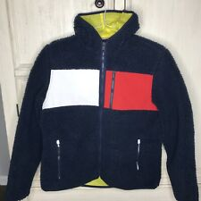 NWT Tommy Hilfiger Cold Stop Utility Mens Full Zip Fleece...