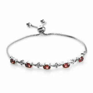 Hypoallergenic Adjustable Fashion Bolo Classic Tennis Bracelet Stainless Steel