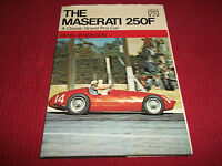 Book. The Maserati 250F A Classic Grand Prix Car Jenkinson Presented Nick Faure