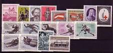 Österreich  ** Jahrgang 1963 in allen Hauptnummern kpl.