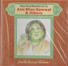 AZIZ MIAN QAWWAL & OTHERS - RAAZ KHUD MUSHTHIR HO TO BRAND NEW CD - FREE UK POST