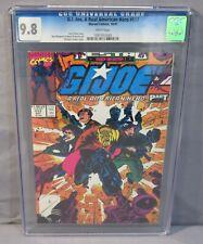 GI JOE, A REAL AMERICAN HERO #117 CGC 9.8 NM/MT White pg Marvel Comics 1991 g.i.