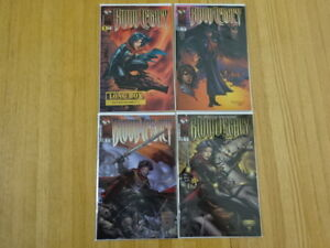 RARE SET OF BLOOD LEGACY: STORY OF RYAN #1-4! TOP COW! SIGNED ISSUE!