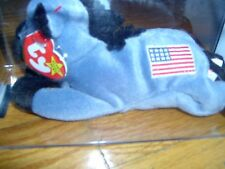 TY- LEFTY -BEANIE BABY- CERTIFICATE OF  AUTHENTICITY - MWMT - MQ