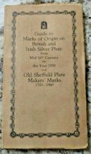 GuGuideide to Mark's of Origin on British and Irish Silver Plate 1500s to 1959